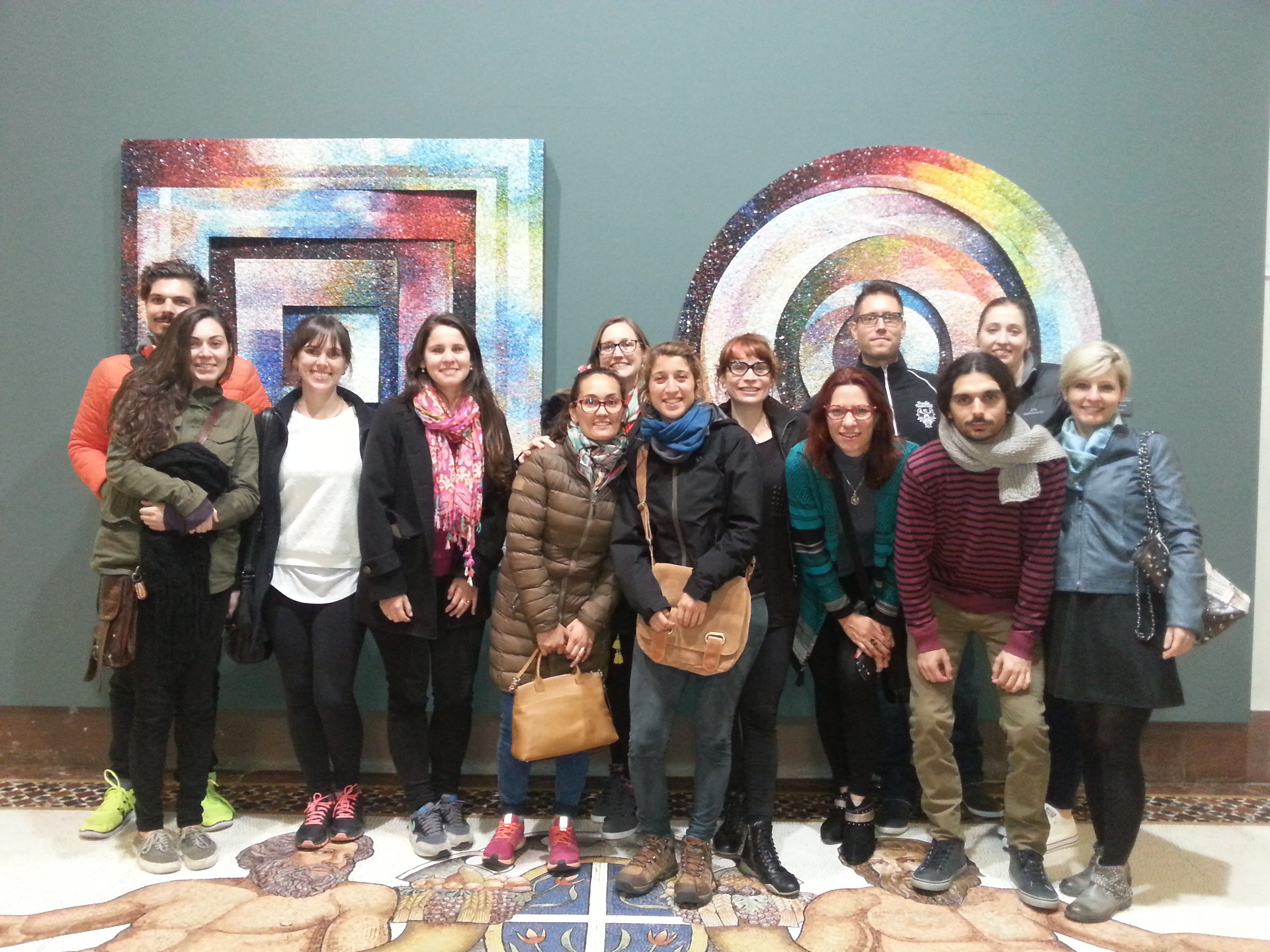 Partito il 7° corso di mosaico organizzato dall'Ente Friuli nel Mondo