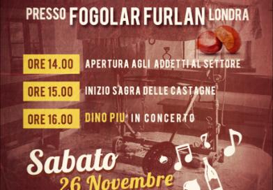 Wine Festival al Fogolâr Furlan di Londra – 26 novembre