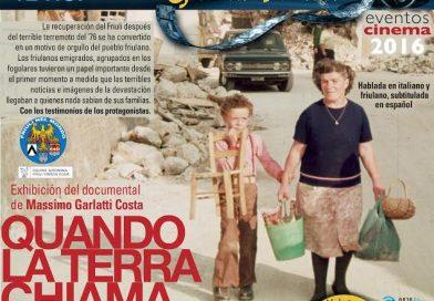 Proiezione documentario Quando la Terra chiama. Buenos Aires, 9 dicembre