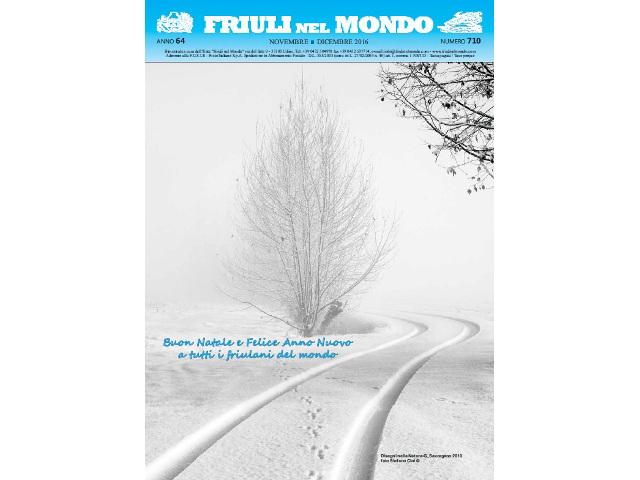Friuli nel Mondo novembre – dicembre 2016