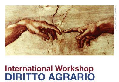 International Workshop DIRITTO AGRARIO, Udine sede di Viale Ungheria 49, Aula A, 14 febbraio 2017