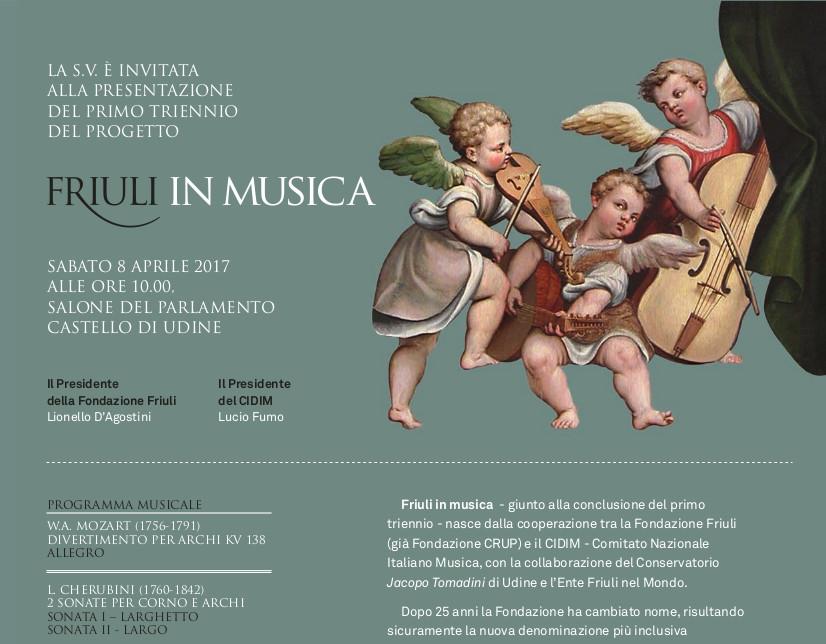 Friuli in Musica (8 aprile)