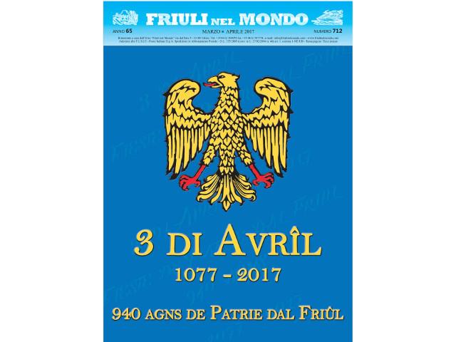 Friuli nel Mondo marzo – aprile 2017