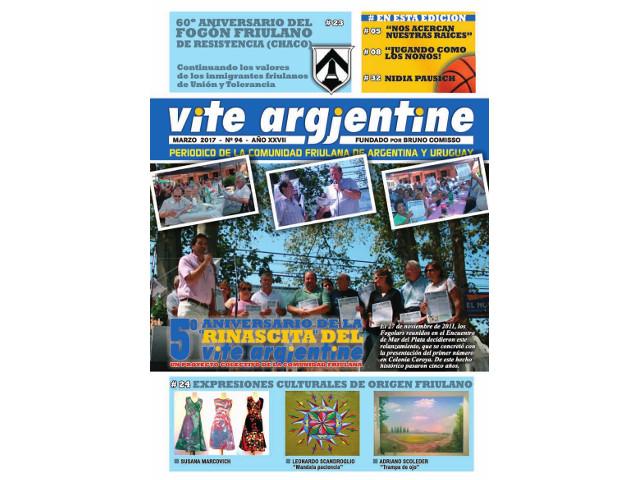 Il n. 94 di Vite Argjentine
