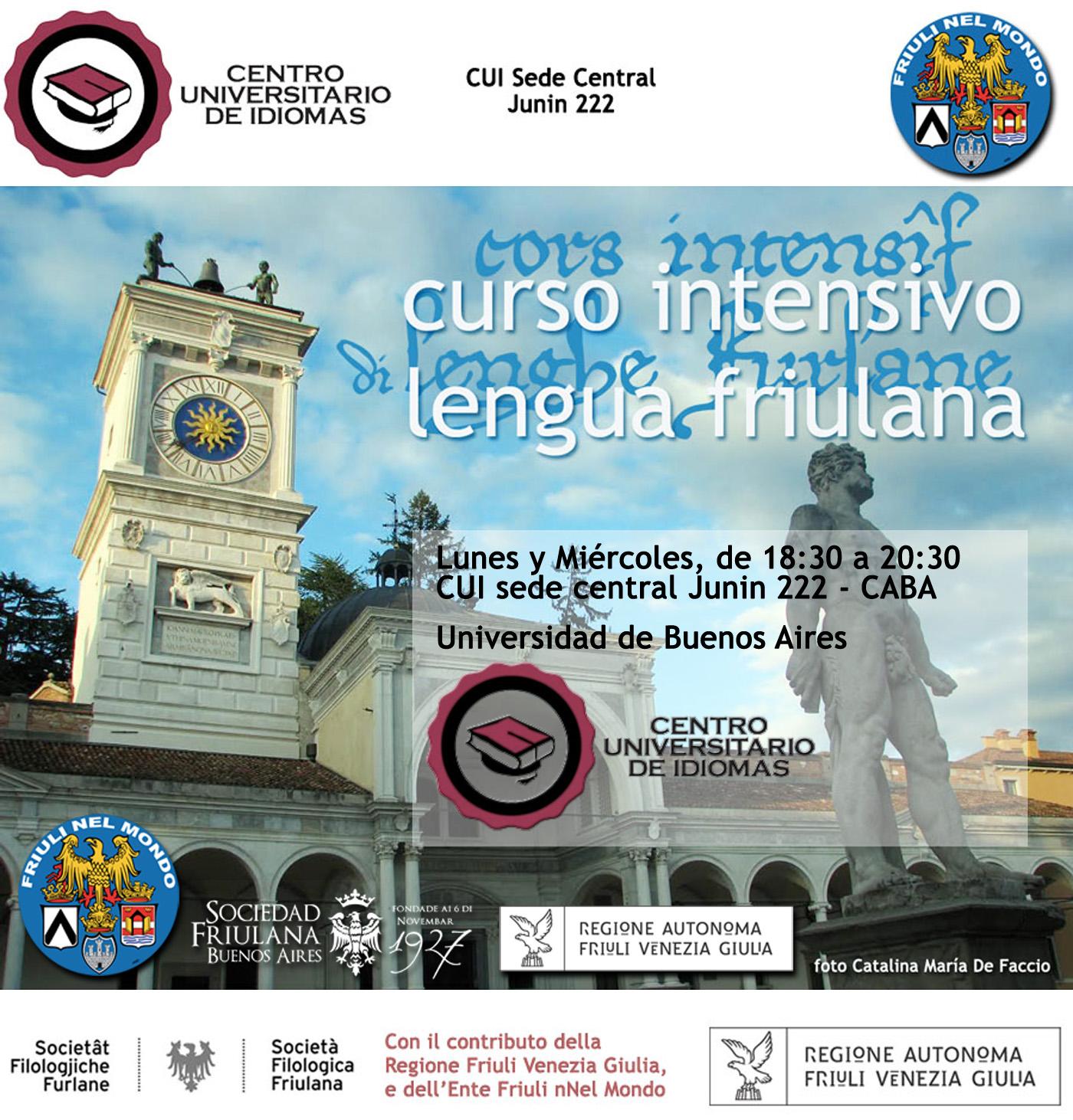 Corso intensivo di Lingua Friulana a Buenos Aires