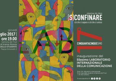 Inaugurazione 55esimo LAB (Gemona del Friuli, giovedì 20 luglio ore 19:00)
