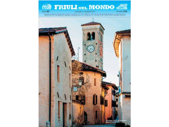 Friuli nel Mondo luglio – agosto 2017