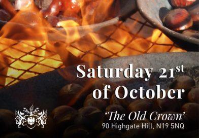 Sagra delle castagne. Sabato 21 ottobre, presso il Fogolâr Furlan di Londra