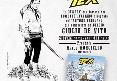 """Mostra """"Tex, il cowboy più famoso del fumetto italiano"""" (Fogolâr Furlan di Bruxelles, giovedì 14 dicembre ore 18.45, Rue du Commerce, 49, 1000 Bruxelles)"""