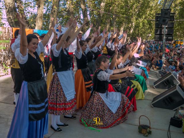 Foto 39^ Sagra Nacional de la Uva, domenica 11 marzo 2018 a Colonia Caroya, Còrdoba (Argentina).