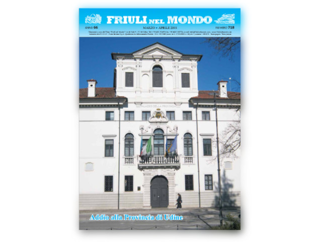 Friuli nel Mondo Marzo – Aprile 2018