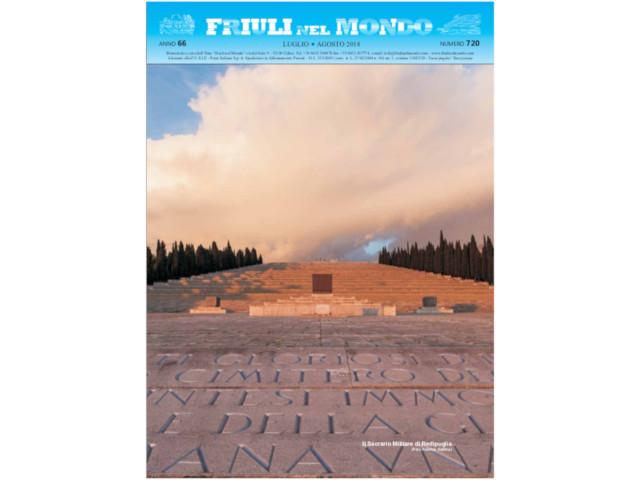 Friuli nel Mondo Luglio – Agosto 2018