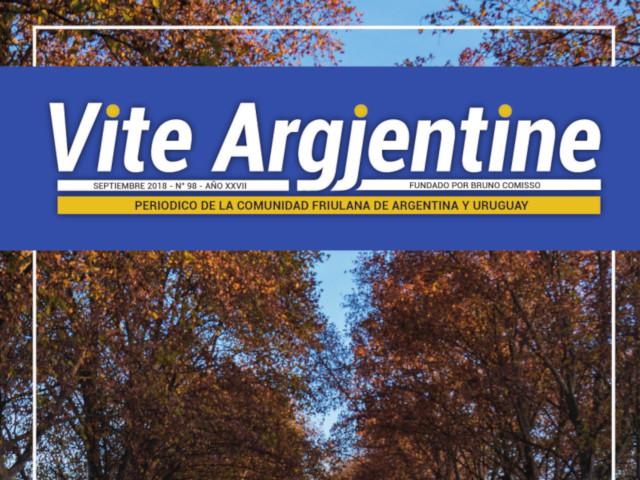 Il n.98 di Vite Argjentine