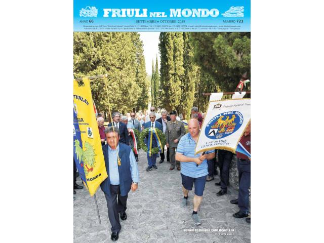 Friuli nel Mondo Settembre – Ottobre 2018