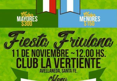 Festa Friulana (Centro Friulano de Avellaneda – Argentina – domenica 11 novembre, ore 12.00)