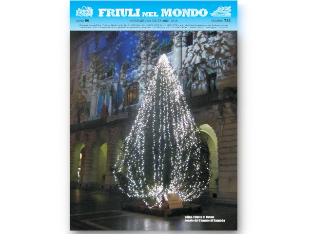 Friuli nel Mondo Novembre – Dicembre 2018