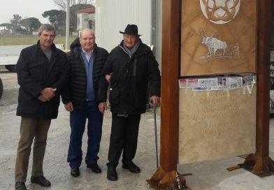 Inaugurazione del Monumento all'Emigrante (Fogolâr Furlan di Aprilia – domenica 27 gennaio, Parco Friuli)