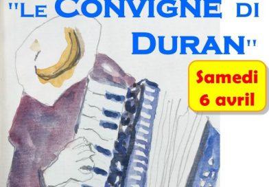 Le Convigne di Duran (Fogolâr Furlan de Vuascogne, sabato 6 aprile 2019, ore 10.00 – Salle des fêtes, Duran)