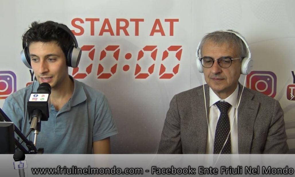 Intervista di Adriano Luci su Radio Canale Italia