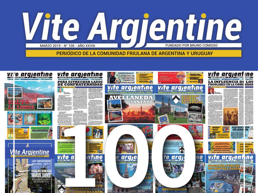 Il n. 100 di Vite Argjentine