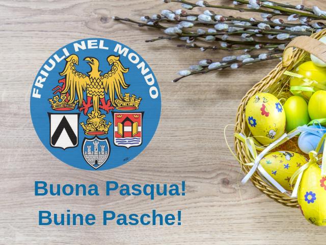 Tanti auguri di buona Pasqua a tutti i friulani dal Presidente e dallo staff di Ente Friuli nel Mondo! Buine Pasche a ducj!