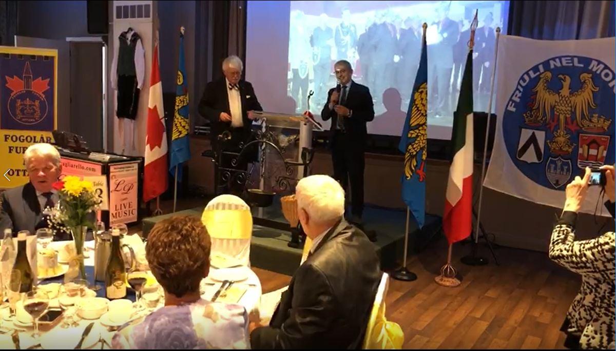 50° anniversario Fogolâr Furlan di Ottawa (Canada)
