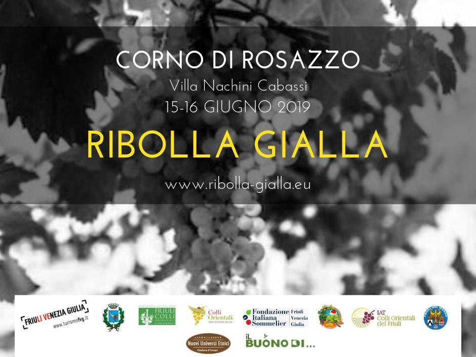Ribolla Gialla (Corno di Rosazzo, Villa Nachini Cabassi, 15-16 giugno 2019)