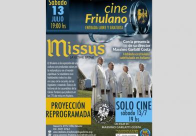 """Progetto """"Rinnoviamo la nostra friulanità"""" (Sociedad Friulana de Buenos Aires, sabato 13 luglio ore 19.00)"""