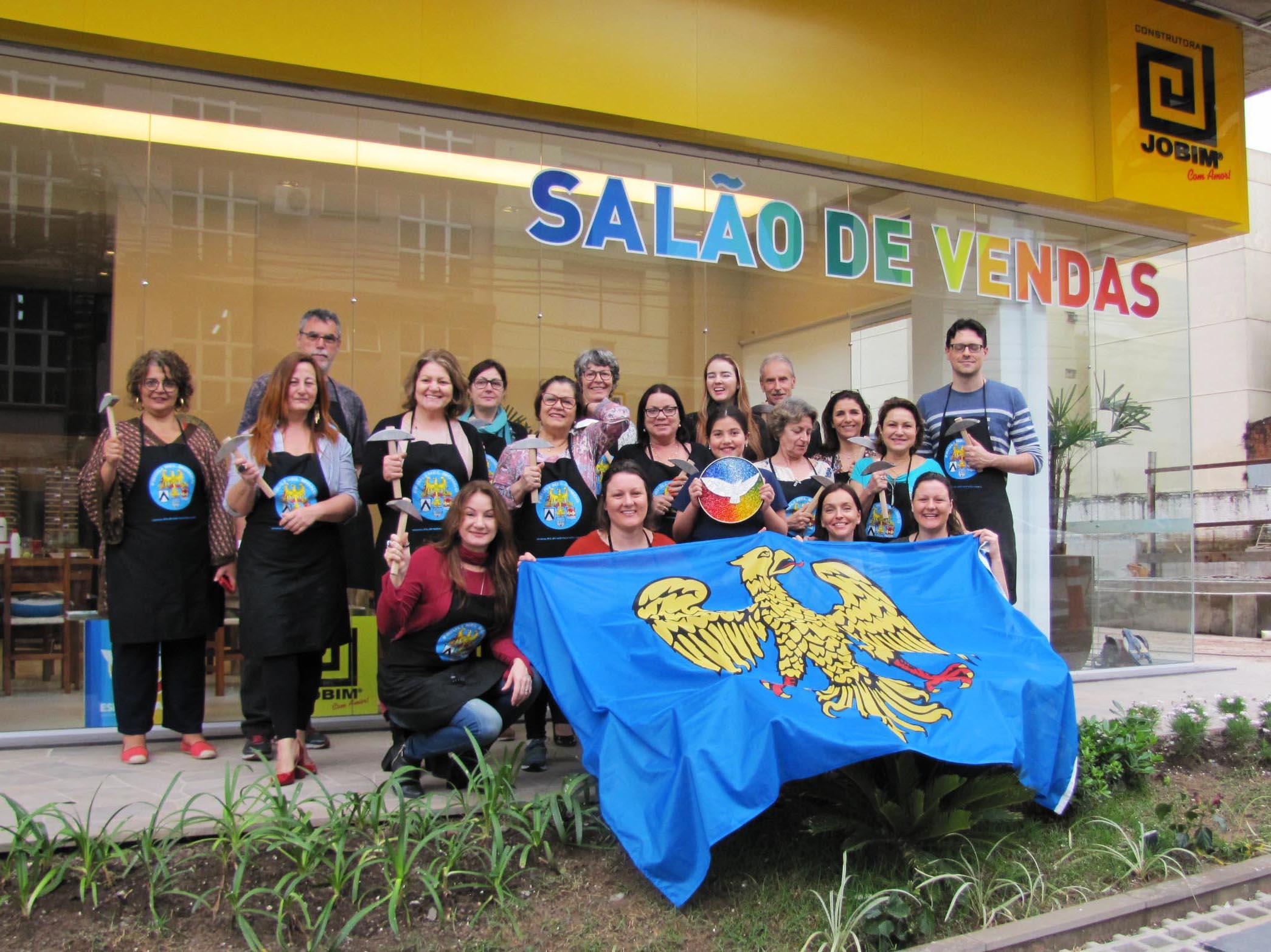 Primo corso di introduzione al mosaico in Argentina