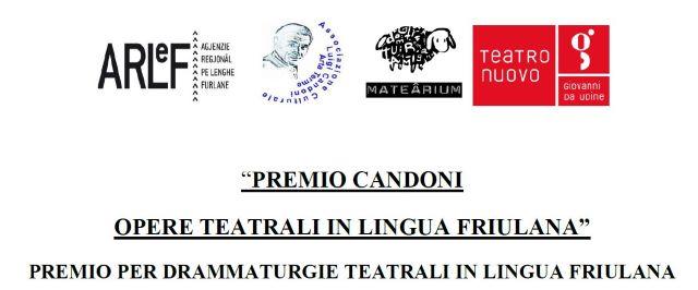 """Prima edizione """"Premio Candoni opere teatrali in lingua friulana"""""""