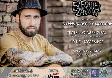 Ezequiel Zanon, socio del Fogolâr Furlan di San Francisco (Argentina) il 10 novembre presenta il suo primo disco e videoclip.