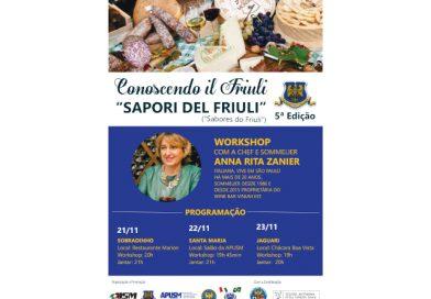 Conoscendo il Friuli – Sabores do Friul (Brasile, 21-23 novembre)