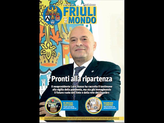 Friuli nel Mondo Marzo-Aprile 2020