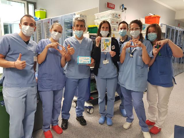 12.000 MASCHERINE DONATE DAL FOGOLÂR FURLAN DI SHANGHAI ALL'ORDINE DELLE PROFESSIONI INFERMIERISTICHE DI UDINE