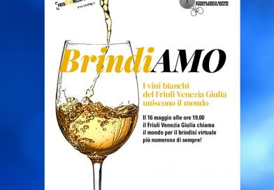 """Anche i Fogolârs partecipano all'evento online """"BrindiAMO – I vini bianchi del Friuli Venezia Giulia uniscono il mondo"""""""