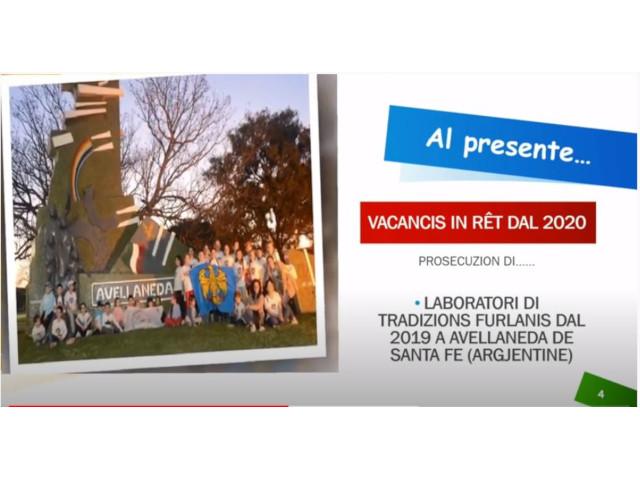 """Al via dal 06 luglio 2020 il progetto """"""""Vacancis in rêt dal 2020"""" – Presentazione in streaming venerdì 03 luglio"""
