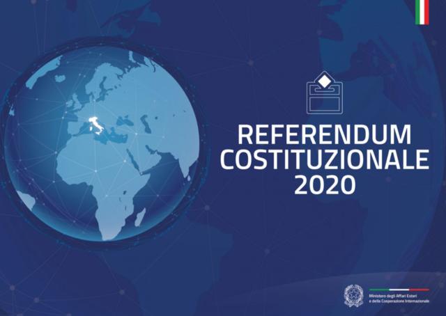 Appello al voto referendario nella circoscrizione estero