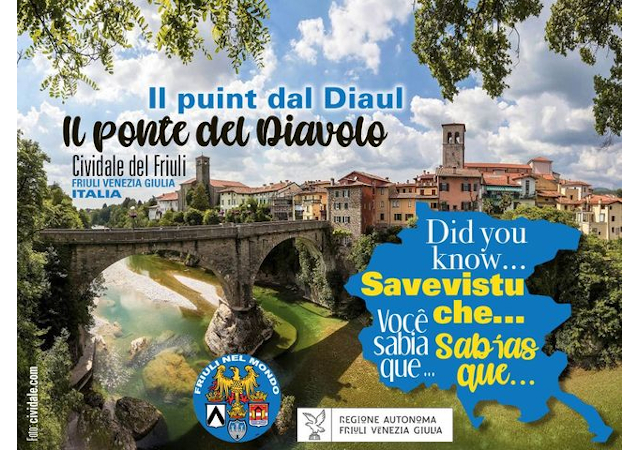 """""""Savevistu che… """" il nuovo progetto di carattere storico, da domani on line sui social e sul sito dell'Ente Friuli nel Mondo."""