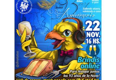 Brindisi online per i 93 anni della Sociedad Friulana Buenos Aires
