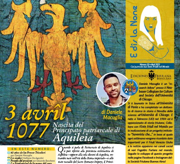 E dîs La None – N. 10 Rivista della Sociedad Friulana di Buenos Aires