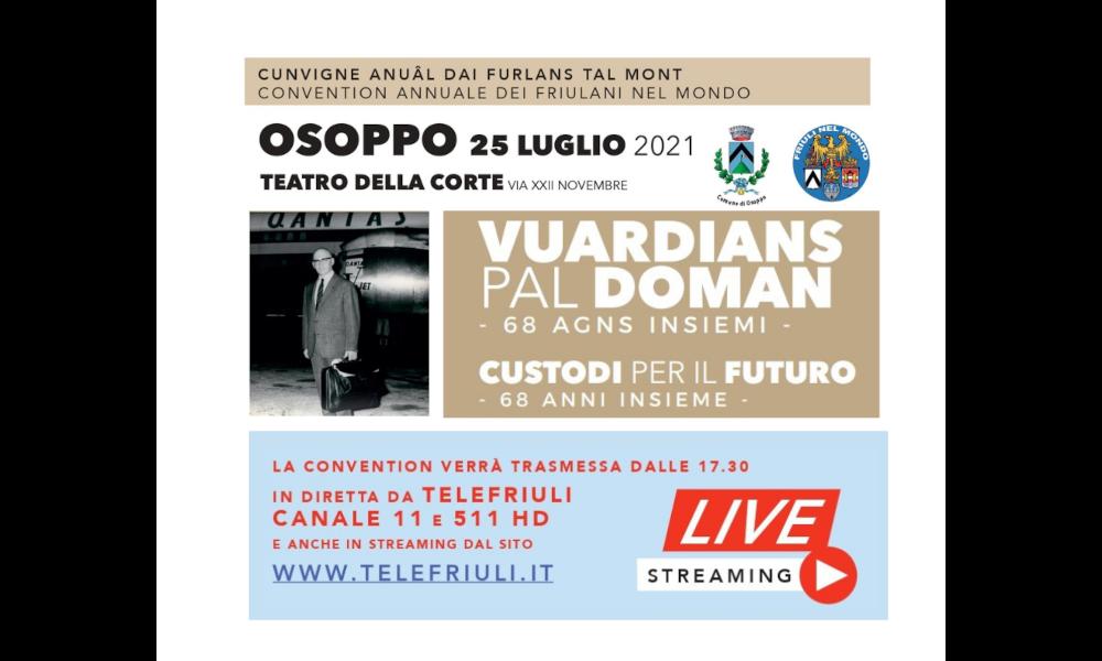 """Al via l'incontro """"Vuardians pal doman"""" (Custodi per il futuro), in presenza contingentata e in streaming"""