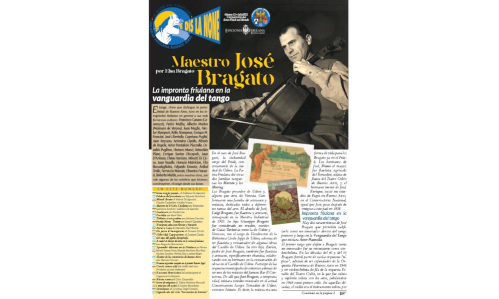 E dîs La None – N. 11 Rivista della Sociedad Friulana di Buenos Aires