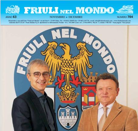 Pubblicato il numero 704 di novembre-dicembre di Friuli nel Mondo