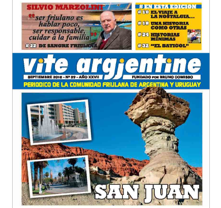 On-line il numero 89 di Vite Argjentine