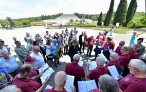 201 Friulani nel Mondo. Cerimonia a Redipuglia 29-07-2018. © Foto Petrussi