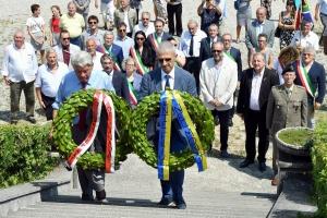 203 Friulani nel Mondo. Cerimonia a Redipuglia 29-07-2018. © Foto Petrussi