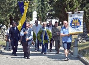 204 Friulani nel Mondo. Cerimonia a Redipuglia 29-07-2018. © Foto Petrussi