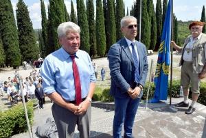 205 Friulani nel Mondo. Cerimonia a Redipuglia 29-07-2018. © Foto Petrussi